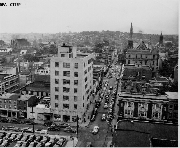 11. What a view of Wilmington looking west down 9th Street!