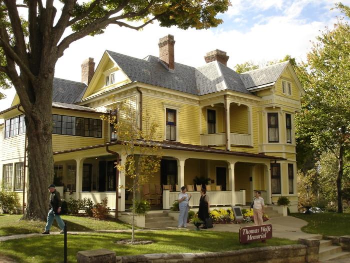15. Thomas Wolfe House