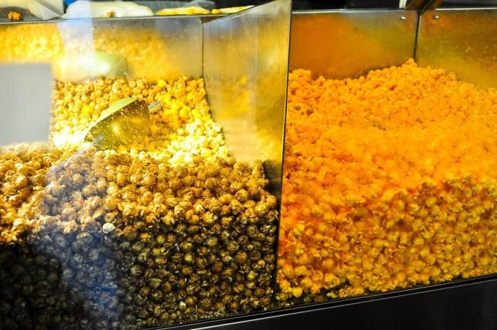 6. Chicago style popcorn