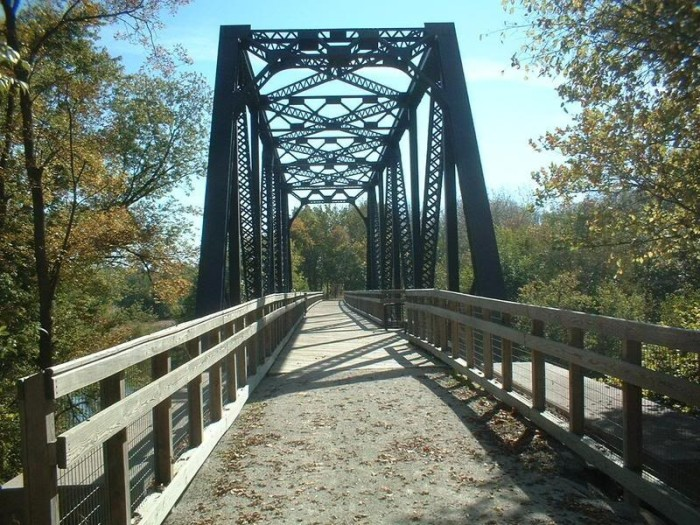 10. Rock Island Trail State Park