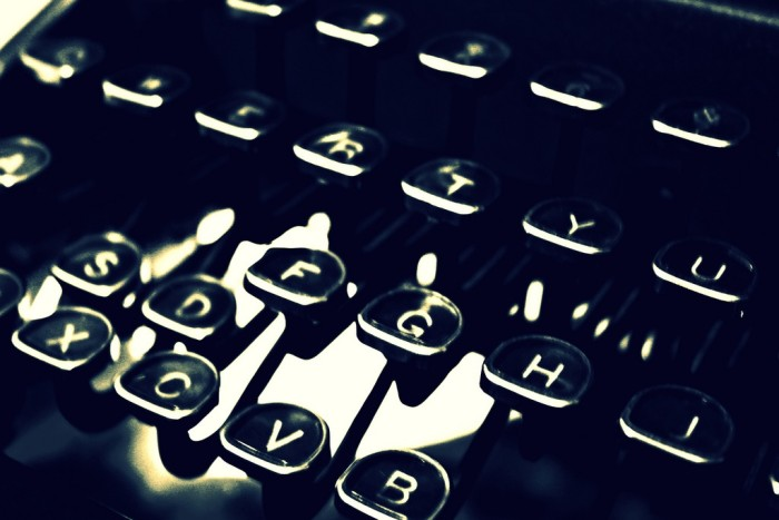 8. The typewriter was invented in Milwaukee in 1869.