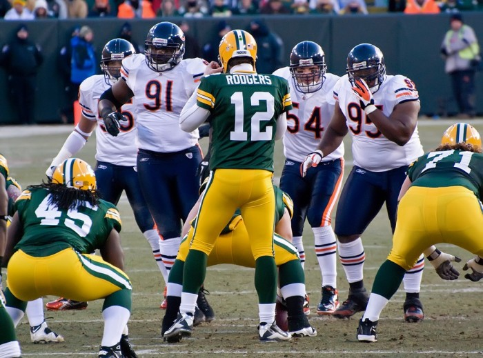 4. The incredible stress of the game against Green Bay.