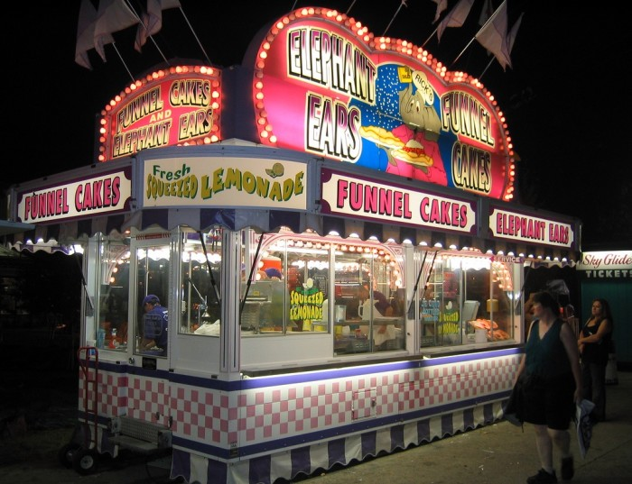 3. Eat things on a stick at the Wisconsin State Fair.