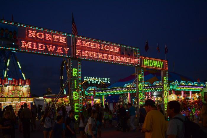 2. Go to the Illinois State Fair.