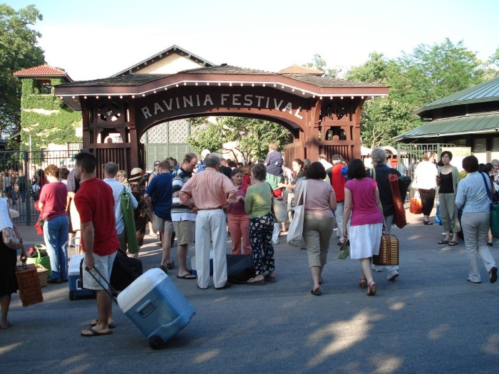 10. Head out to Ravinia.