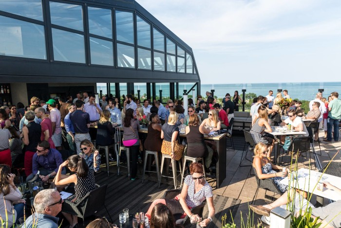 12. Dine on a rooftop.