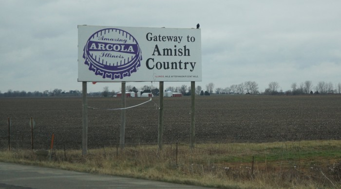 6. Arcola is another Amish community, home to a lot of attractions.