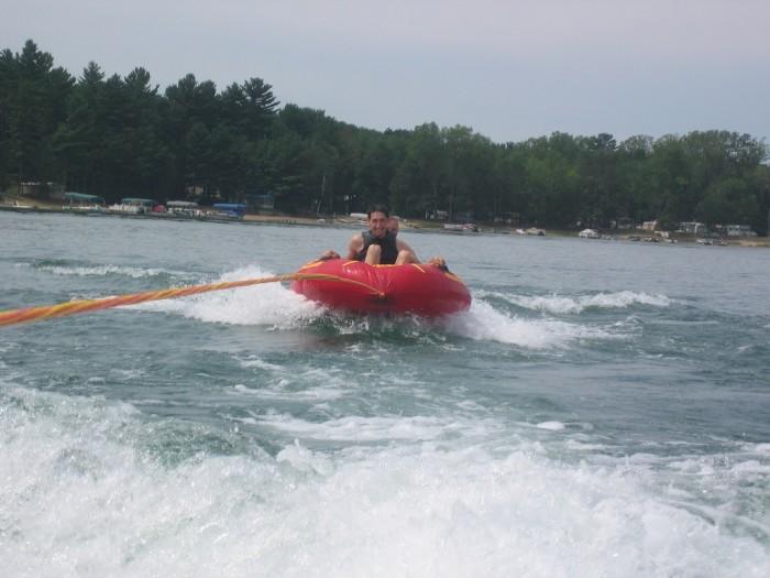 5. Go tubing.