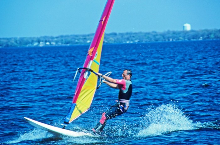 11. Learn to windsurf.