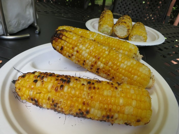 4. Eat some delicious Illinois corn off the grill at a festival.