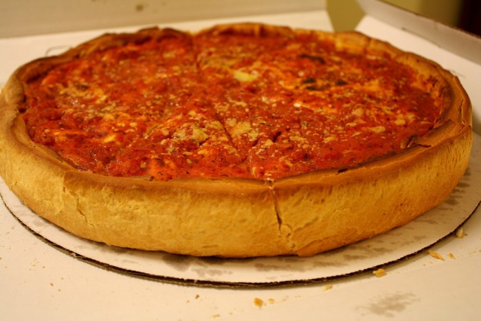 7. Regular crust pizzas look too thin.