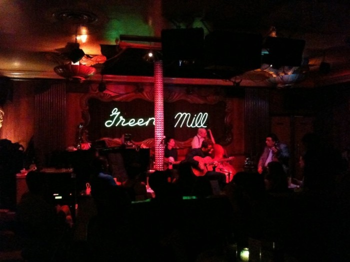 5. Enjoy live music at a jazz club.