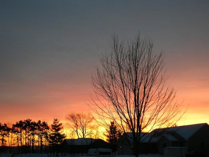 1. Catch a fantastic Wisconsin sunrise.