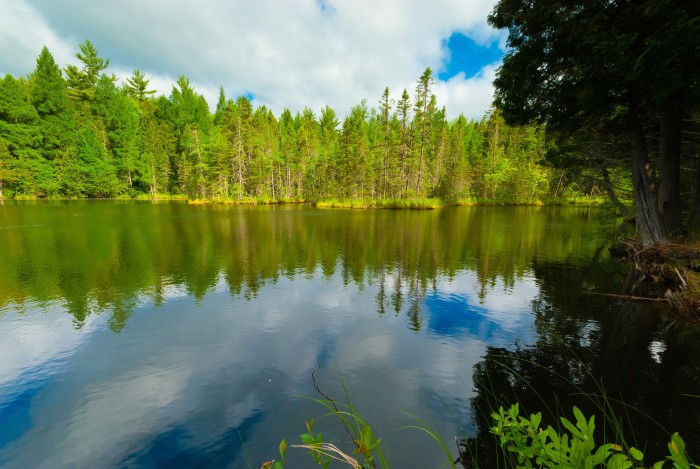 4. Go for a hike and check out Wisconsin's gorgeous scenery.