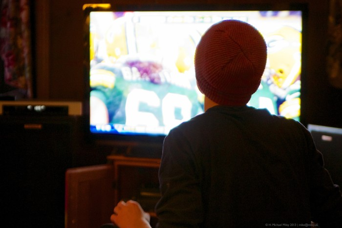 7. Watch your beloved Green Bay Packers play.