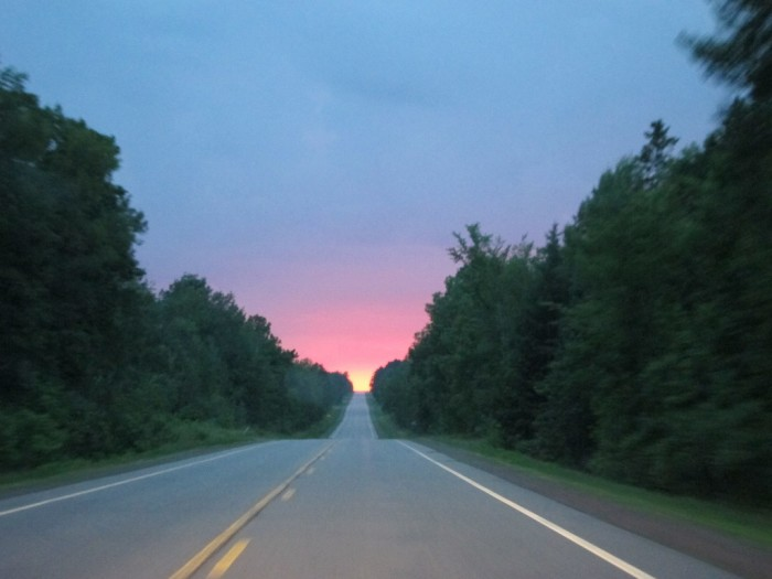 10. Be a Sunday driver and just enjoy a sunset across the countryside.