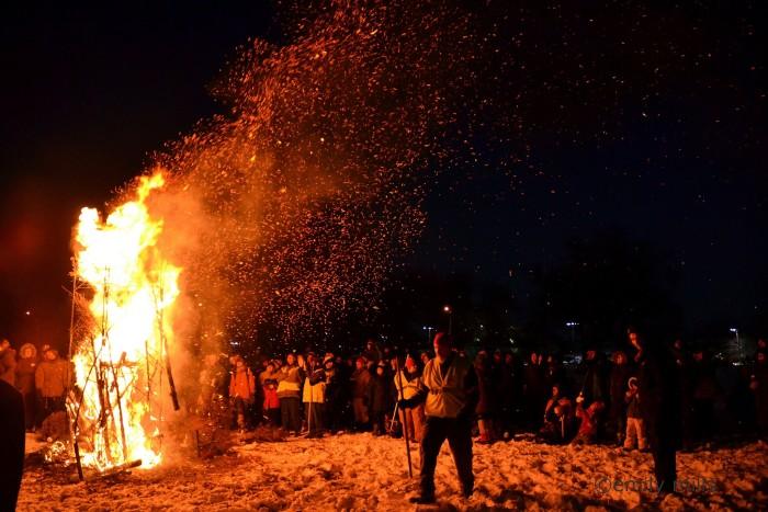 12. Go to a friend's bonfire--the bigger, the better!