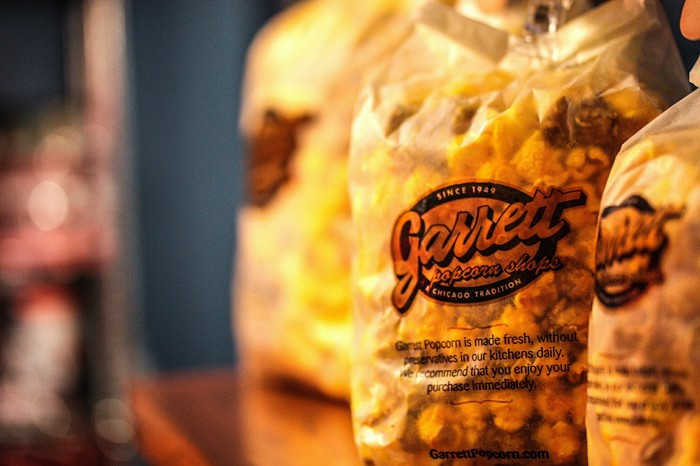 9. All of that exercise means that you will want to eat some delicious Garrett's popcorn.