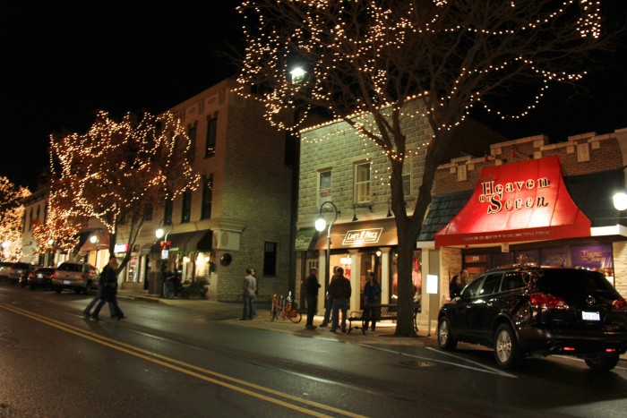 13. But many might argue that Naperville never looks better than at night during the holiday season.
