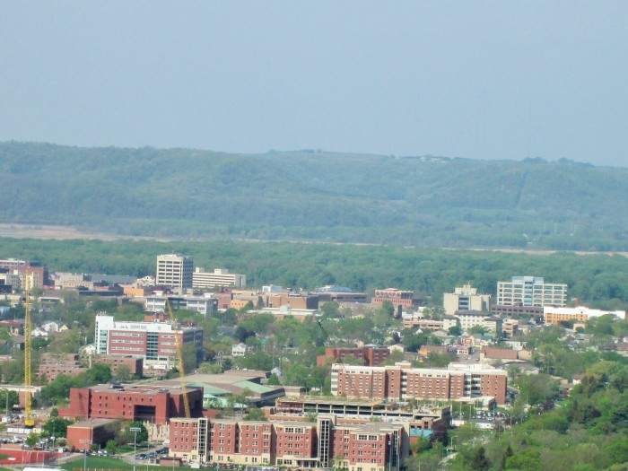 10. It is the home to the University of Wisconsin--La Crosse.