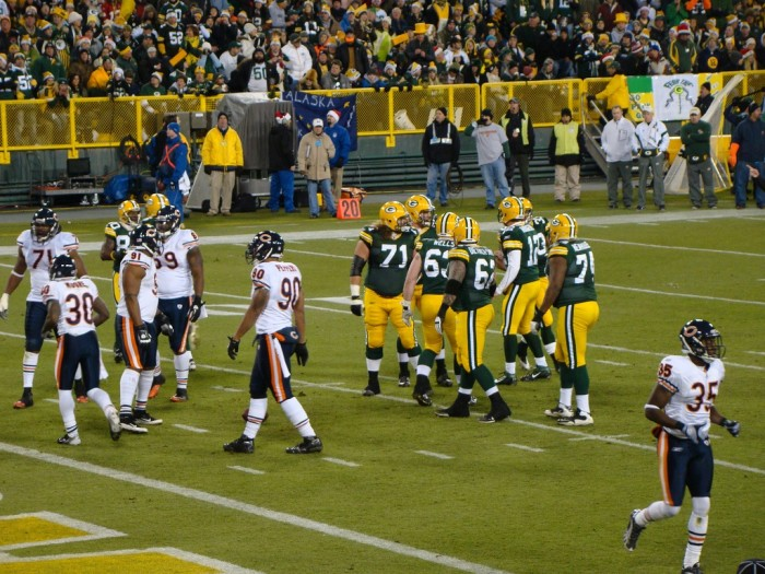 4. Dealing with (the admittedly rare) times that the Packers lose to NFC North rivals.