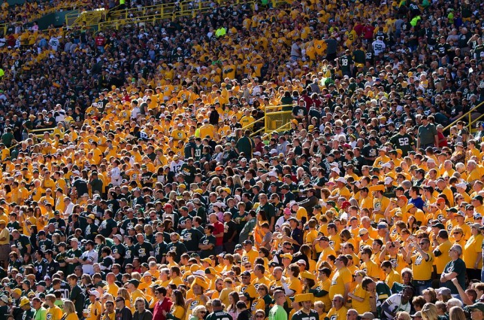 2. Attend a Packers game.