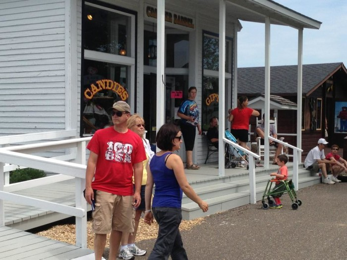 6. Don't forget to visit the Cracker Barrel Gift Shop, which was opened in 1905.