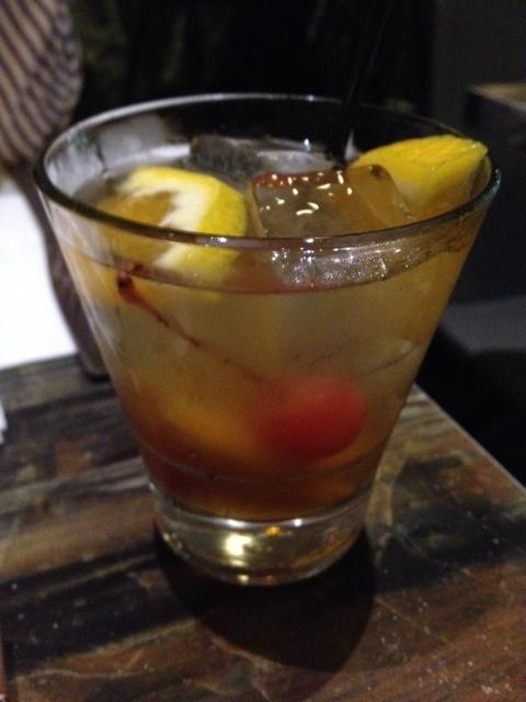 4. Brandy Old Fashioned