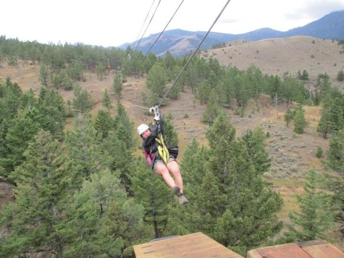 4. Yellowstone ZipLine and Canopy Tours