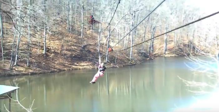 11. Zipline in Brown County