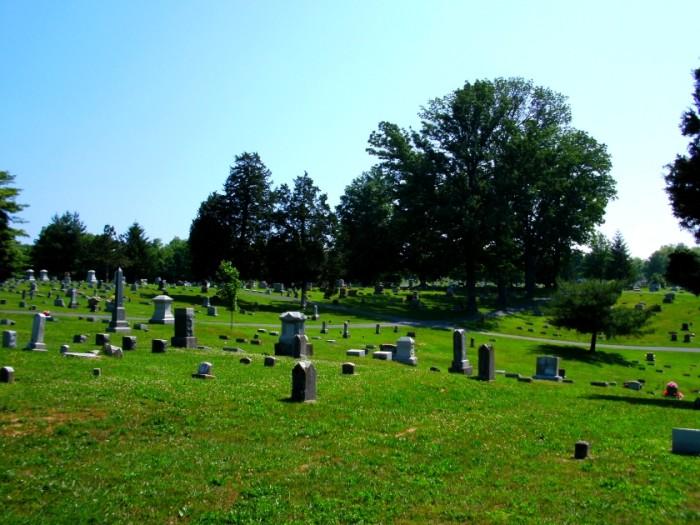 2) Cedar Hill Cemetery