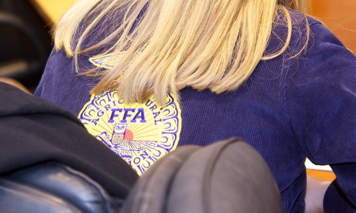 3. Your school's FFA (Future Farmers of America) had a lot of members.