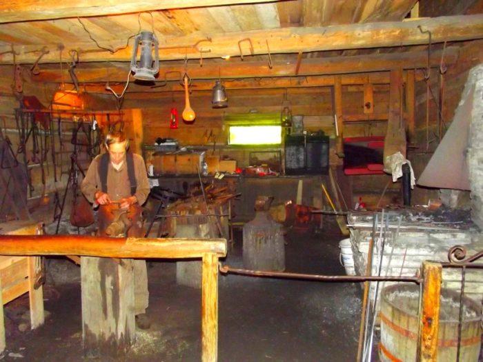 6) Pioneer Blacksmith