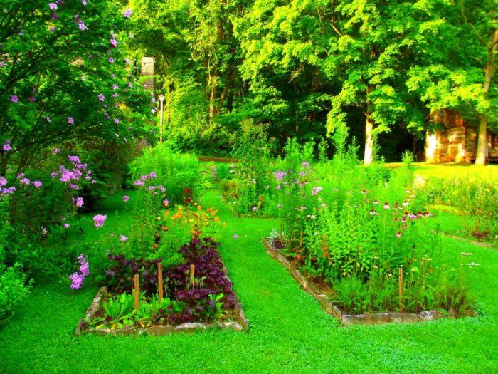 8) Pioneer Garden