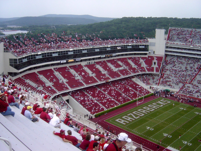 7. We love them anyway, but sometimes the Razorbacks just aren't very good.