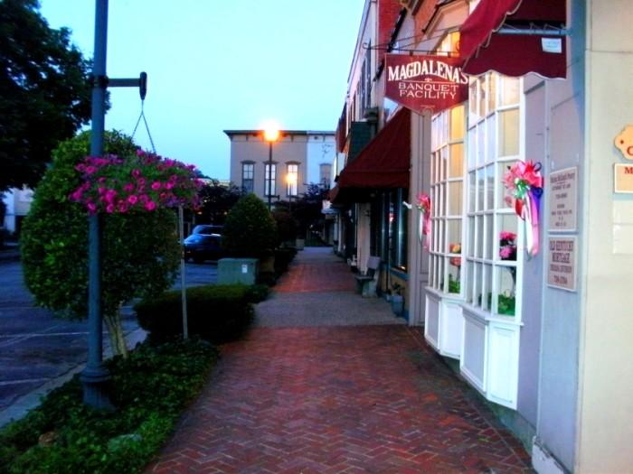 8) Charming Streets of Downtown Corydon