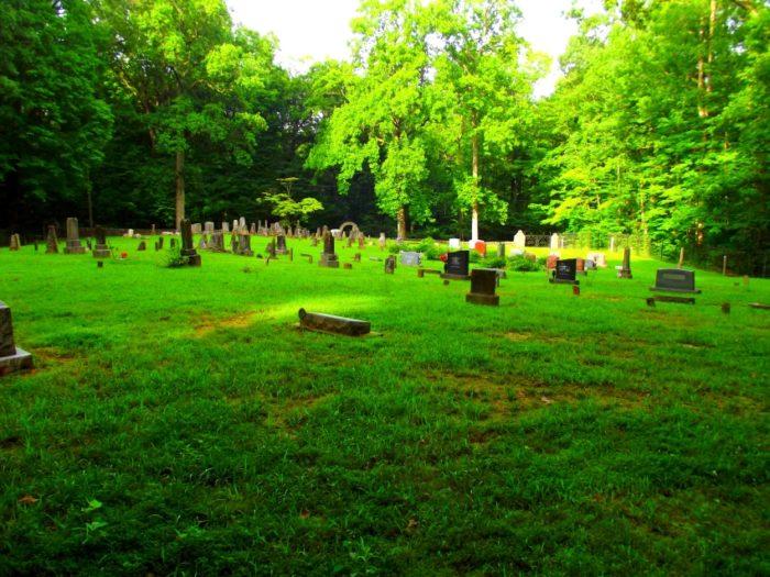 9) Pioneer Cemetery