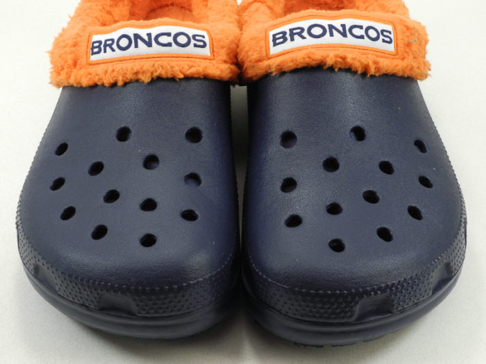 8. There's also a 50/50 chance our footwear will be Broncos related...