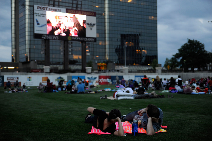 8. Movies in the Park