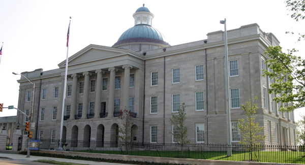 1. Old Capitol Museum, Jackson