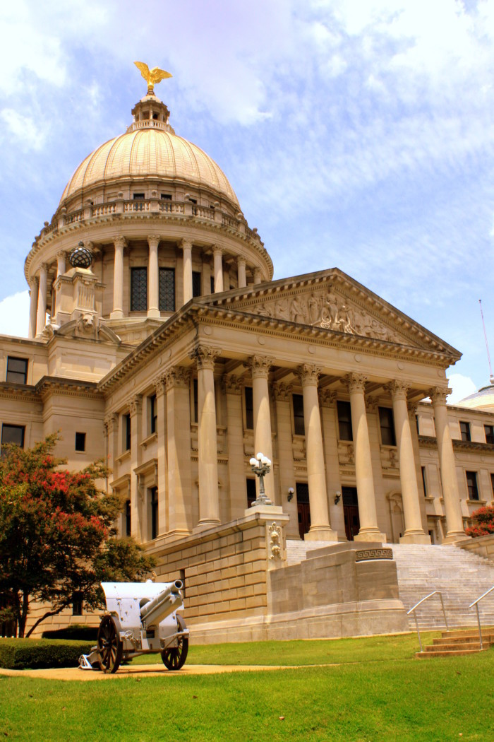 1. The State Capitol Building, Jackson