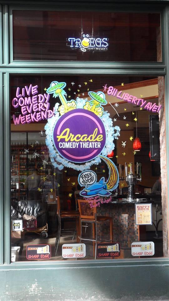 1. Arcade Comedy Theater