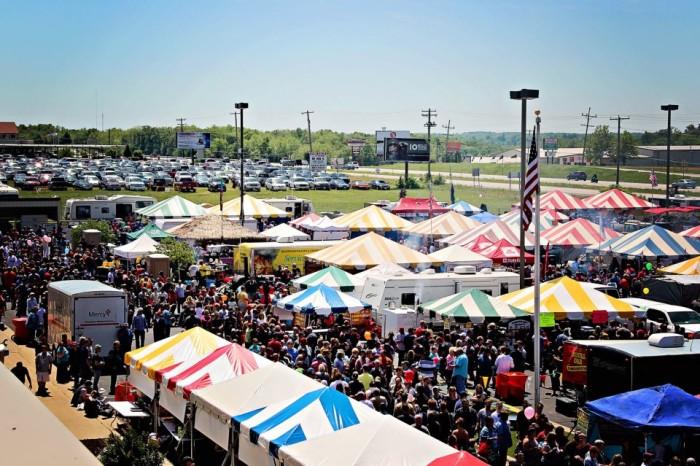 1.Rock'n Ribs BBQ Festival, Springfield