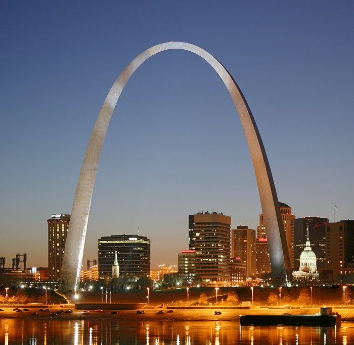 1. It is the world's tallest arch.