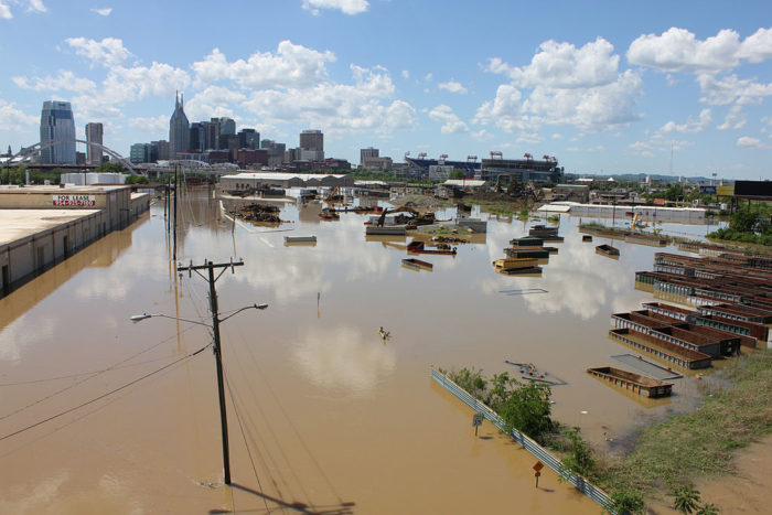 5. The Great Nashville Flood of 2010