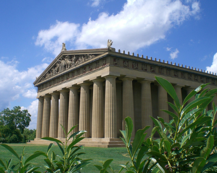 1. Visit the Parthenon.