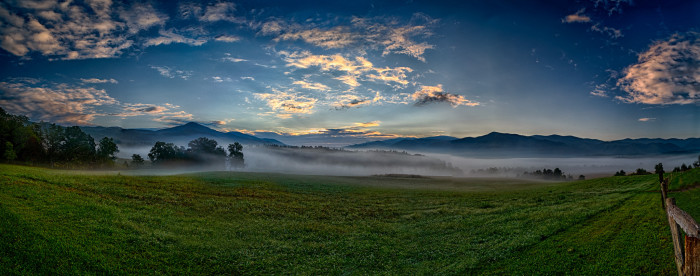 1. We have the Great Smoky Mountains.