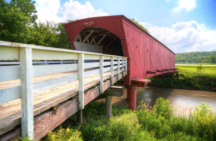 10. Take a tour of the Bridges of Madison County