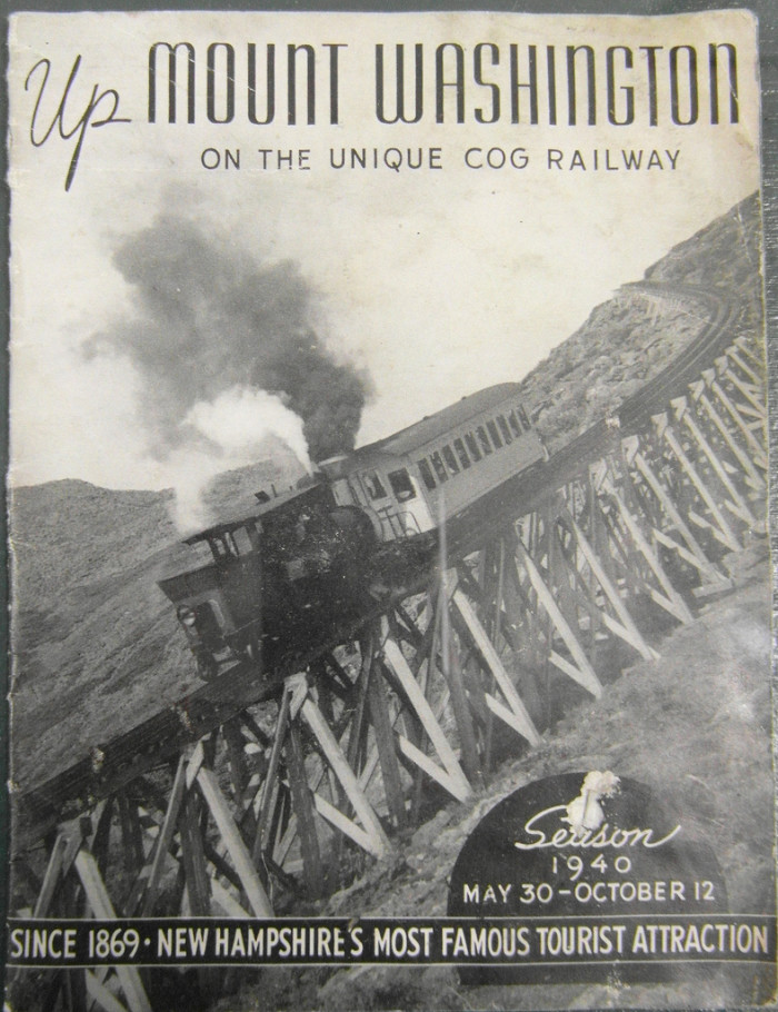 Mount Washington's railway is the oldest cog railroad in the world. It first reached the summit in 1869!