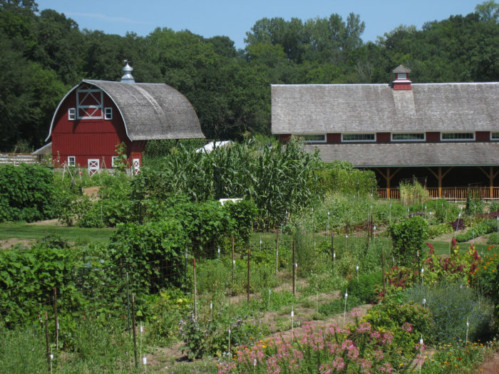 Take a tour of the Seed Savers Heritage Farm and Garden.